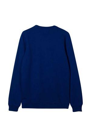 Blue sweatshirt with frontal logo MSGM kids MSGM KIDS | -108764232 | 025045130