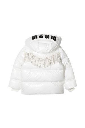 Piumino bianco Msgm Kids MSGM KIDS | 783955909 | 025048001