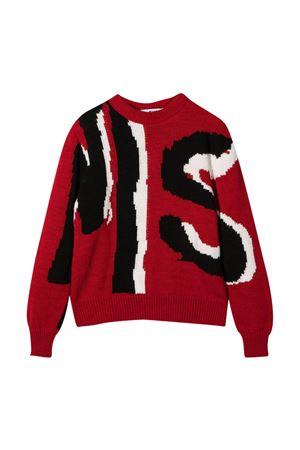 Red teen sweater Msgm Kids  MSGM KIDS   7   025054040T