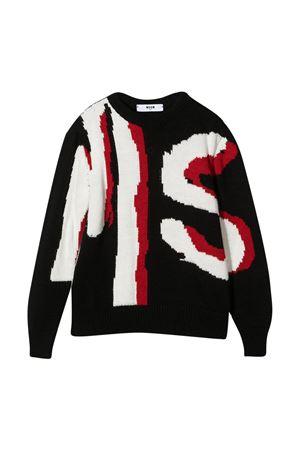Teen black sweater Msgm Kids MSGM KIDS   7   025054110T
