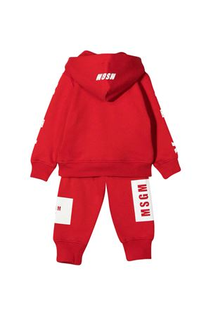 Red suit baby MSGM Kids MSGM KIDS | 42 | 025061040