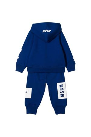 Royal blue suit baby MSGM Kids MSGM KIDS | 42 | 025061130