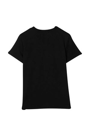 Black t-shirt MSGM kids  MSGM KIDS | 8 | 025106110
