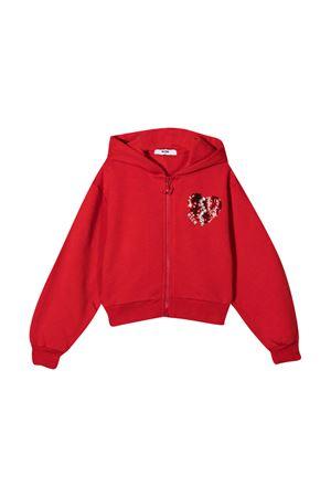 Red sweatshirtt MSGM kids  MSGM KIDS | -108764232 | 025128040