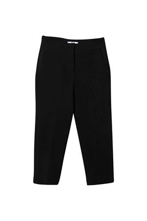 Black trousers MSGM kids MSGM KIDS | 9 | 025139110