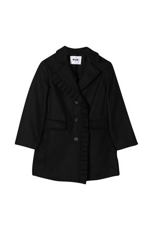 Black coat MSGM kids MSGM KIDS | 17 | 025146110