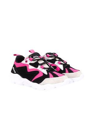 Black and fuchsia teen sneakers Msgm Kids  MSGM KIDS | 90000020 | 025202044T