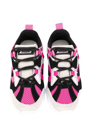 Black and fuchsia sneakers Msgm Kids  MSGM KIDS | 90000020 | 025202044