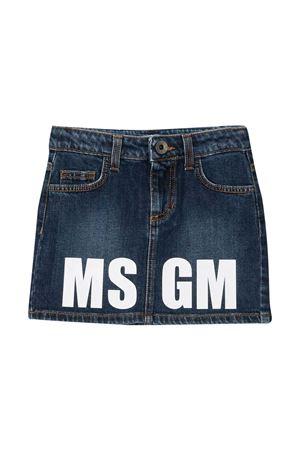 Denim skirt teen Msgm Kids  MSGM KIDS | 15 | 025210126T