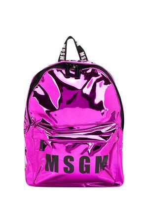 Fuchsia backpack Msgm Kids MSGM KIDS | 5032345 | 025231044
