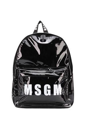 Black backpack Msgm Kids MSGM KIDS | 5032345 | 025231110