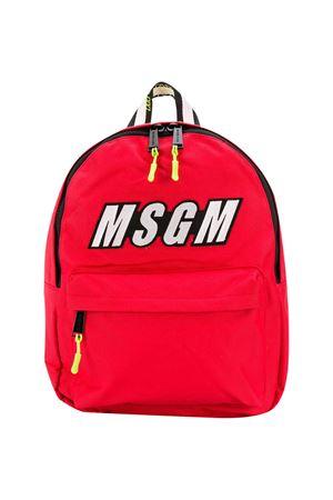 Zaino rosso Msgm Kids MSGM KIDS | 5032345 | 025236040