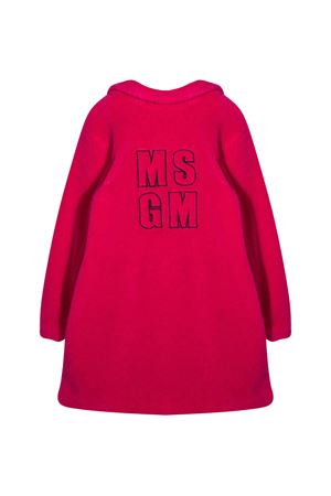 Cappotto teddy fucsia MSGM kids MSGM KIDS | 17 | 025238044