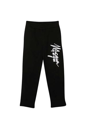 Black trousers teen MSGM kids  MSGM KIDS | 9 | 025289110T