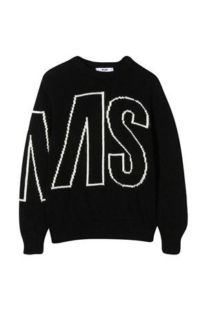 Black sweater MSGM kids  MSGM KIDS | 7 | 025303110