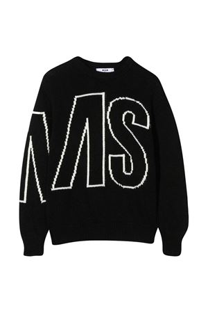 Black sweater teen MSGM kids  MSGM KIDS | 7 | 025303110T