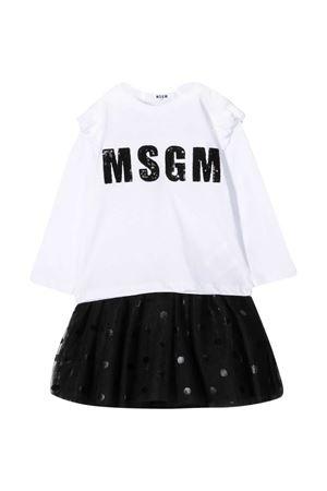 Black and white dress Msgm Kids MSGM KIDS | 42 | 025441001