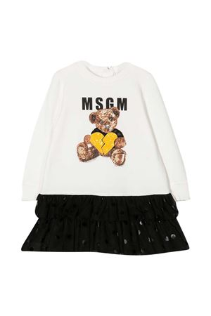 Black and white dress Msgm Kids MSGM KIDS | 11 | 025442001