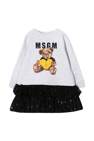 Gray dress Msgm Kids MSGM KIDS | 11 | 025442107