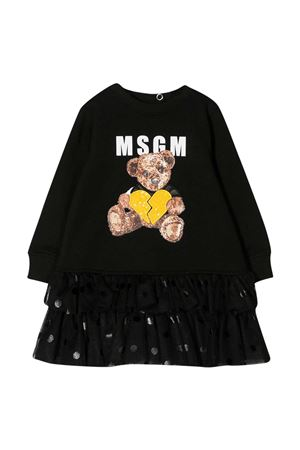 Black dress Msgm Kids MSGM KIDS | 11 | 025442110