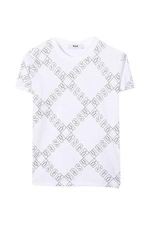 White T-shirt teen MSGM kids  MSGM KIDS   8   025640001T