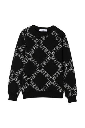 Black sweatshirt teen MSGM kids  MSGM KIDS | -108764232 | 025642110T