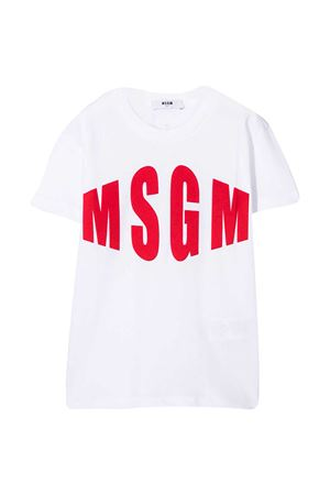 T-shirt bianca MSGM Kids MSGM KIDS | 8 | 025650001