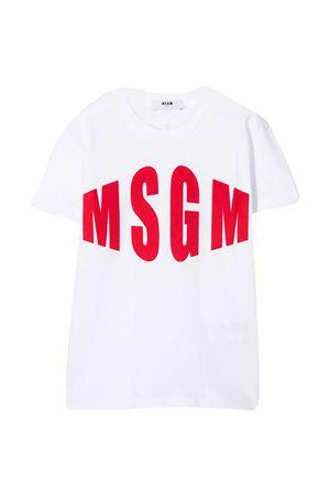 T-shirt bianca teen MSGM Kids MSGM KIDS | 8 | 025650001T