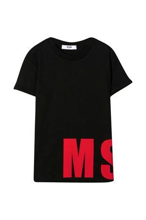 T-shirt nera MSGM Kids MSGM KIDS | 8 | 025652110