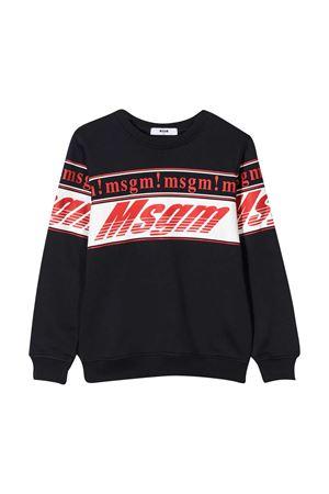 Blue sweatshirt teen MSGM Kids  MSGM KIDS | -108764232 | 025661060T