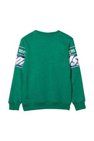 Felpa verde MSGM Kids MSGM KIDS | -108764232 | 025661080