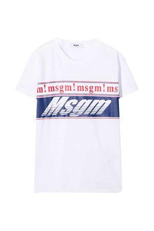 T-shirt bianca MSGM Kids MSGM KIDS | 8 | 025665001