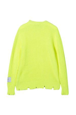 Maglione giallo fluo MSGM Kids MSGM KIDS   7   025693023
