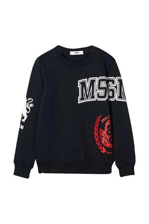 Blue sweatshirt teen MSGM Kids  MSGM KIDS | -108764232 | 025694060T