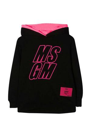 Felpa nera teen Msgm Kids MSGM KIDS | -108764232 | 025812110/27T