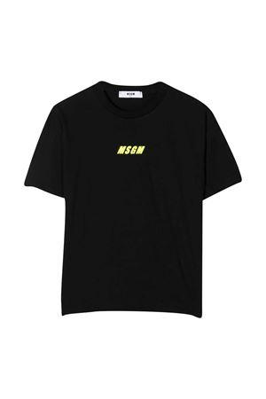 T-shirt nera Msgm Kids MSGM KIDS | 8 | 025814110