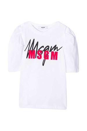 T-shirt bianca teen MSGM kids MSGM KIDS | 8 | 025926001T