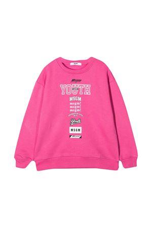 Pink sweatshirt MSGM kids  MSGM KIDS | -108764232 | 026350045