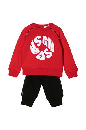 Red and black baby suit MSGM kids  MSGM KIDS | 42 | 026366040/15