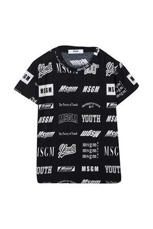 T-shirt nera teen MSGM kids MSGM KIDS | 8 | 026389200T