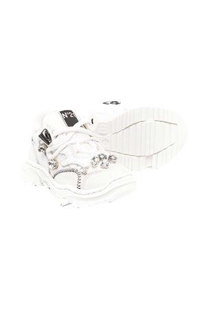 Chunky white sneakers N°21 Kids  N°21 KIDS | 12 | 65370VAR1