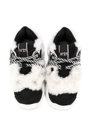 Chunky white sneakers N ° 21 kids N°21 KIDS | 12 | 65491VAR1