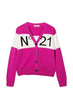 Two-tone cardigan N°21 Kids N°21 KIDS   39   N214CCN01190N305