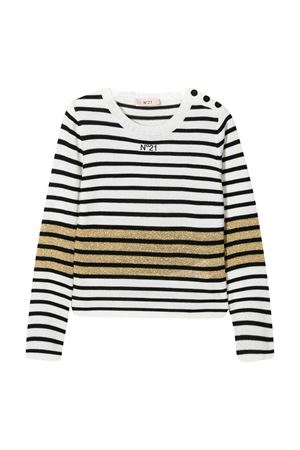 N°21 Kids Kids striped sweater  N°21 KIDS | 7 | N214CGN01160N100
