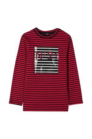 red and black striped sweater N°21 Kids N°21 KIDS | 8 | N214D8N00980N806