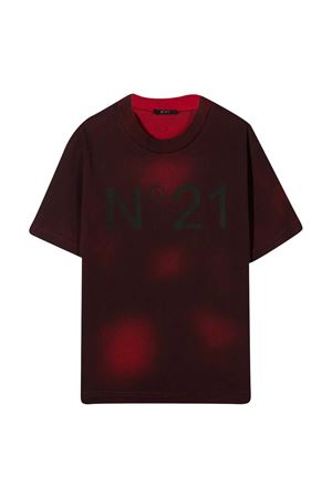 T-shirt with tie dye pattern N°21 Kids N°21 KIDS | 8 | N214D9N00970N402