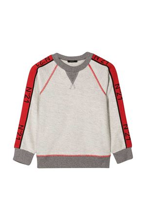Sweatshirt with red logo band N°21 kids N°21 KIDS | -108764232 | N214DIN00790N901