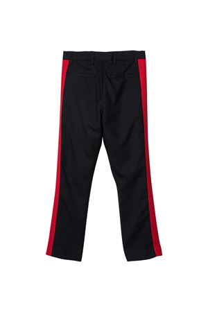 Tailored trousers with lataral red bands N°21 kids N°21 KIDS | 9 | N214CSN01110N806