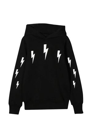 Black sweatshirt teen Neil Barrett Kids  NEIL BARRETT KIDS | -108764232 | 026009110T
