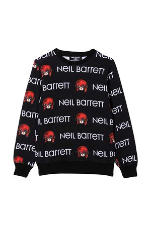 Black teen sweatshirt Neil Barrett Kids  NEIL BARRETT KIDS | -108764232 | 026014110T